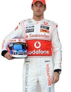 Jenson Button Life Size Cardboard Cut Out
