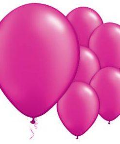 Magenta Pink Latex Balloons