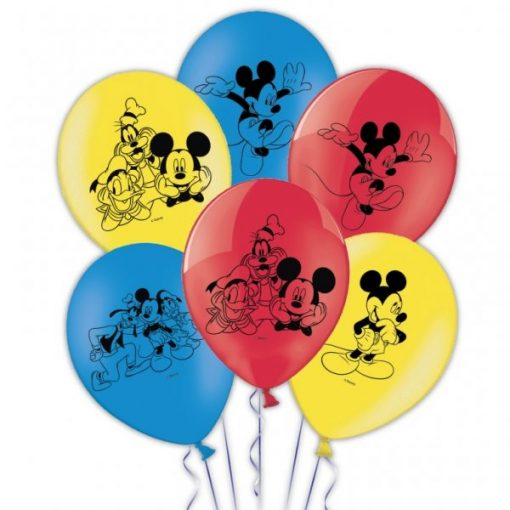 Mickey Mouse Printed Balloons