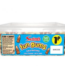 Swizzels Fun Gums Cola Bottles Tub