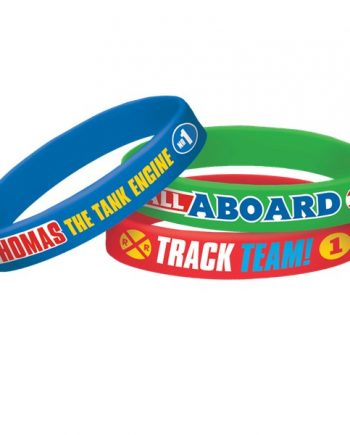 Thomas The Tank Engine Party Rubber Bracelets
