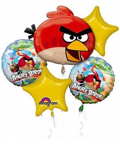 Angry Birds Party Balloon Bouquet