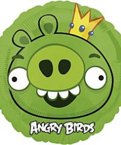 Angry Birds King Pig Foil Balloon