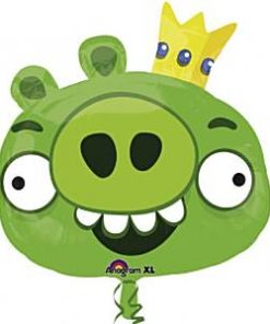 Angry Birds Party King Pig Foil Balloon