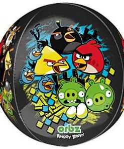 Angry Birds Party Long Lasting Orbz Balloon