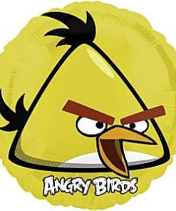 Angry Birds Yellow Foil Balloon