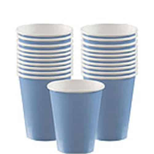 Baby Blue Party Paper Cups