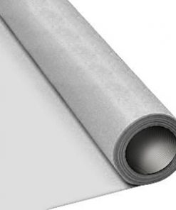 Silver Paper Table Roll