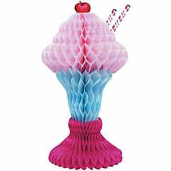 Ice Cream Sundae Table Decoration