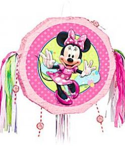 Minnie Mouse Pull Piñata