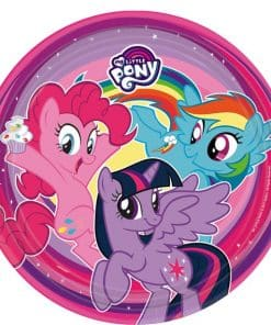 My Little Pony Party Paper Plates