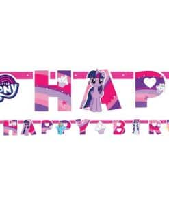 My Little Pony 'Happy Birthday' Letter Banner