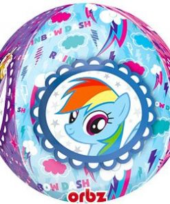 My Little Pony Party Bubble Balloon - 22""
