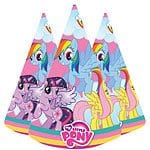 My Little Pony Party Cone Hats (Pk 8)