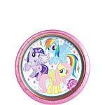 My Little Pony Party Paper Dessert Plates - 17cm (Pk 8)