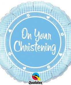 On Your Christening Baby Boy Balloon