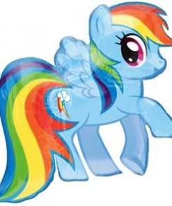 """My Little Pony Party Dash Supershape Balloon - 28"""""""