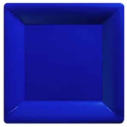 Royal Blue Party Paper Square Plates