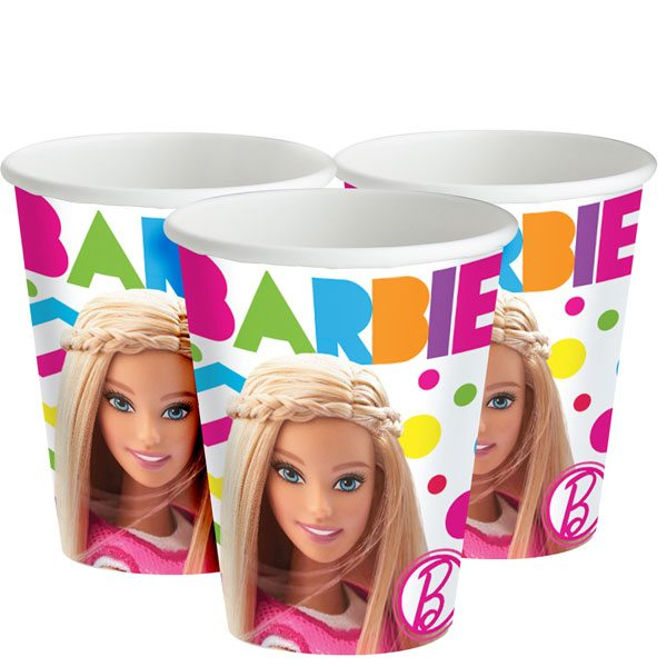 Barbie Party Paper Cups