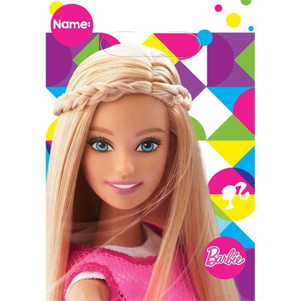 Barbie Party Plastic Loot Bags