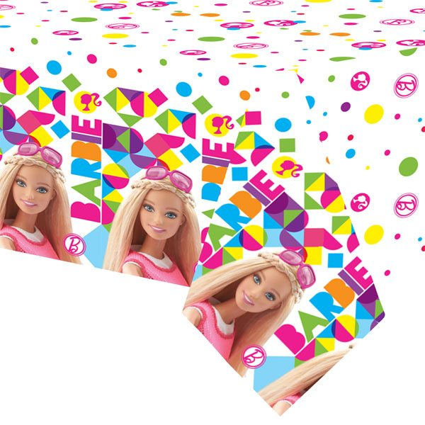 Barbie Party Plastic Tablecover