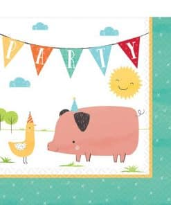 Barnyard Birthday Napkins