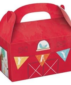 Barnyard Birthday Treat Boxes