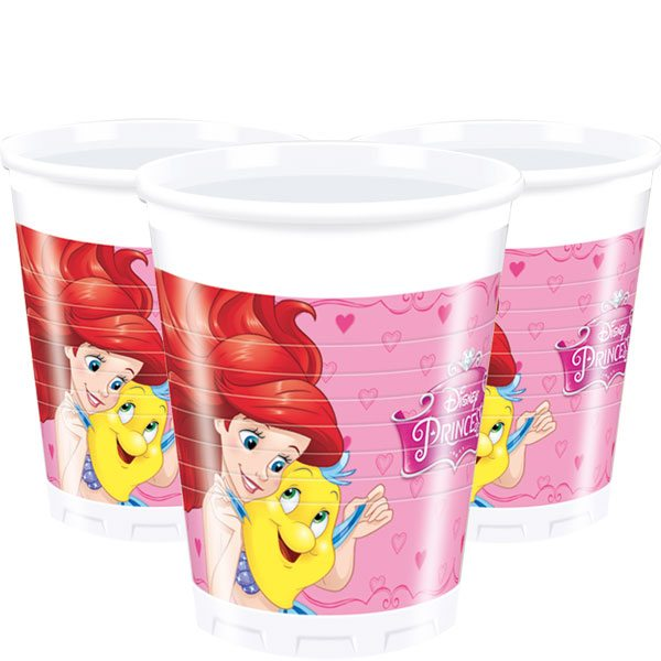 Disney Princess Party Plastic Cups