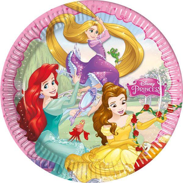 Disney Princess Party Paper Plates