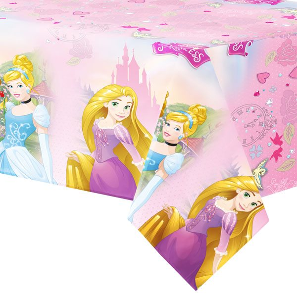 Disney Princess Party Plastic Tablecover