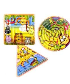 Jungle Maze Puzzle