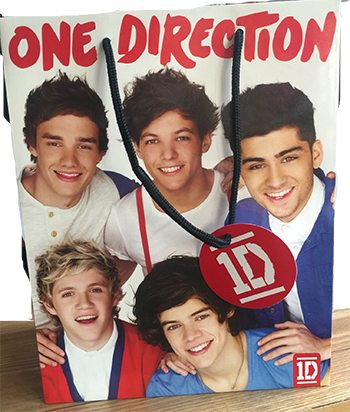 One Direction Gift Bag