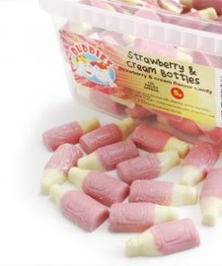 Strawberries & Cream Bottles Tub