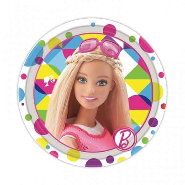 Barbie Party Paper Plates