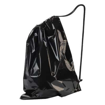 Buy black duffle bags - plastic - perfect for big party bags