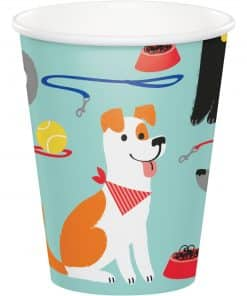 Dog Party Paper Cups