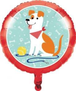 Dog Party Foil Balloon