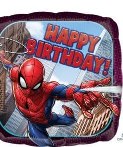 'Happy Birthday' Spider-Man Foil Balloon