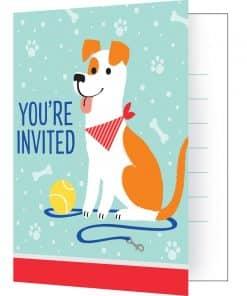 Dog Party Invites