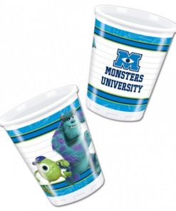 Monsters University Party Plastic Cups
