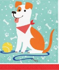 Dog Party Paper Napkins