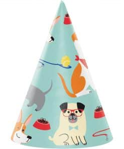 Dog Party Cone Hats