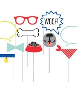 Dog Party Photo Booth Props