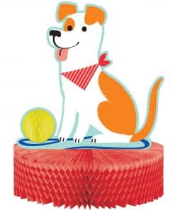 Dog Party Honeycomb Centrepiece