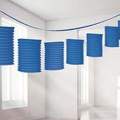 Blue Lantern Decoration