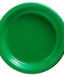 Green Party Plastic Plates