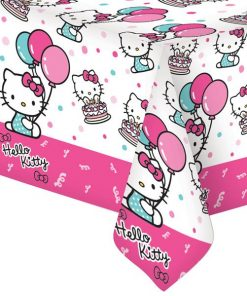 Hello Kitty Party Plastic Tablecover