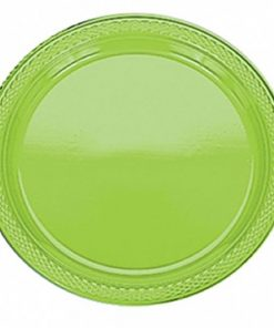 Lime Green Plastic Plates