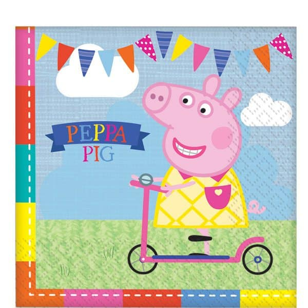 peppa pig party paper napkins