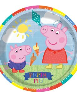 Peppa Pig Party Paper Plates